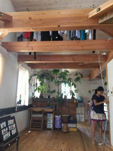 近江八幡で子供でも洗濯を室内に干せる家