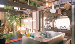 近江八幡の住宅工房ライブスのキッチン