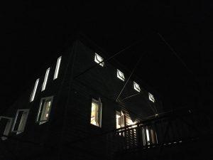 近江八幡住宅工房ライブス夜